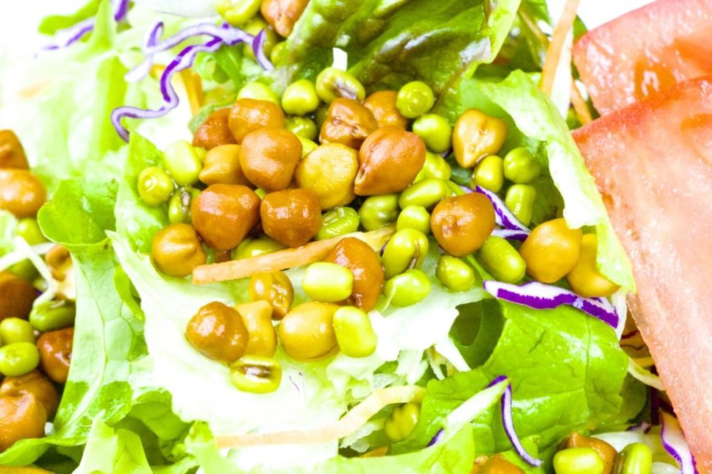 インド風豆サラダ